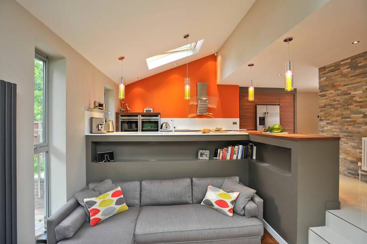 Diane Berry Kitchens: modern tarz Mutfak