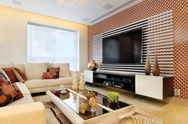 modern Living room by Adriana Scartaris design e interiores