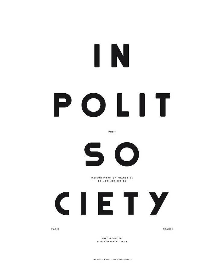 "MOODPAPER ""IN POLIT SOCIETY"": Murs & Sols de style  par Polit"