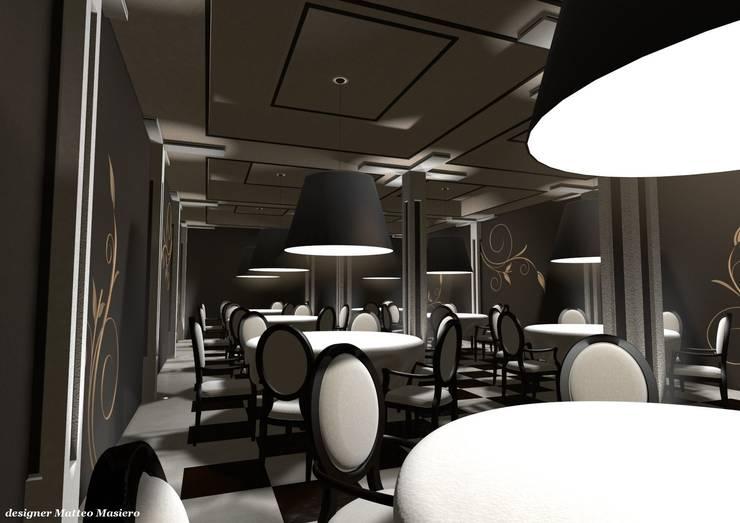 Ristorante Venezia: Gastronomia in stile  di Masi Interior Design di Masiero Matteo