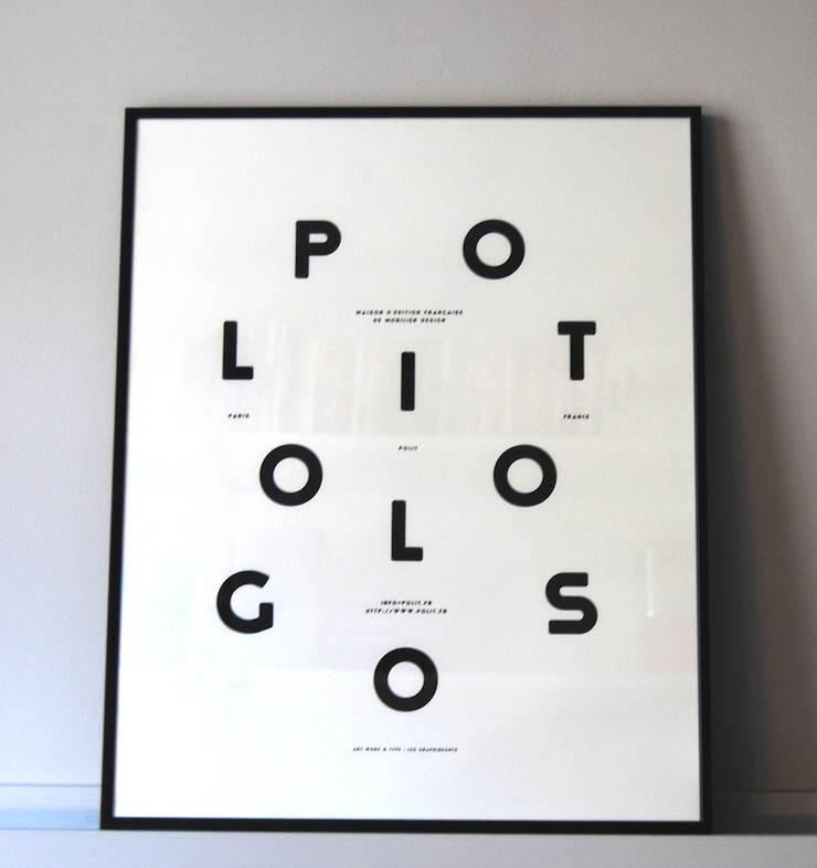 """MOODPAPER """"POLITOLOGOS"""": Murs & Sols de style  par Polit"""
