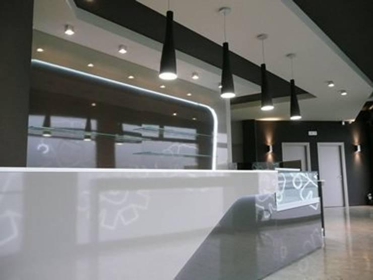 Lounge bar Empire: Gastronomia in stile  di Masi Interior Design di Masiero Matteo