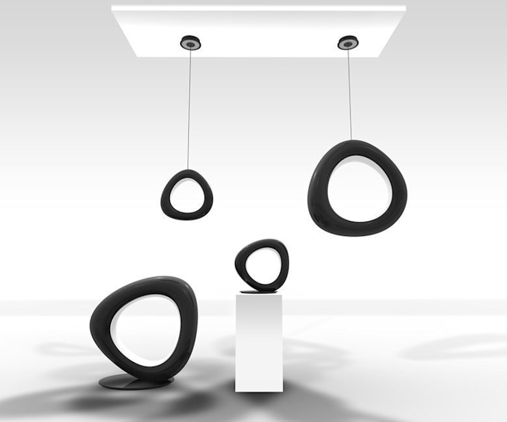 Totem:  in stile  di Masi Interior Design di Masiero Matteo