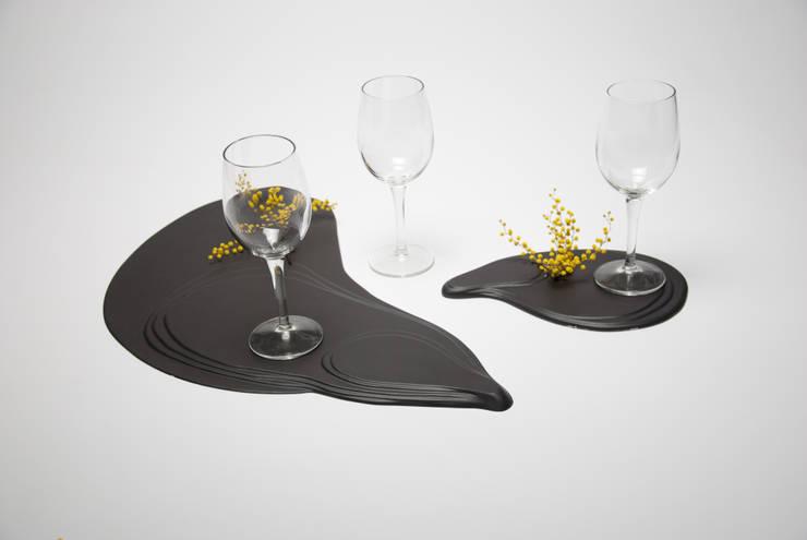 Flaques: Salle à manger de style de style eclectique par levasseurjules