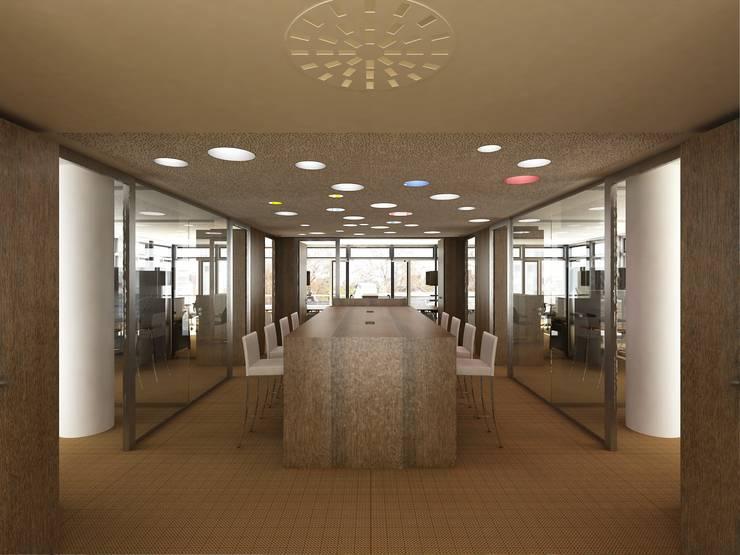 Ausbau einer Büroetage:  Häuser von Keyfacts of Architecture,