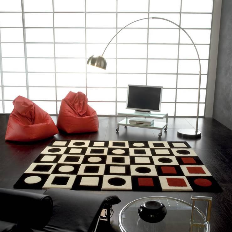 Simbols de Carving: Salones de estilo moderno de Ociohogar