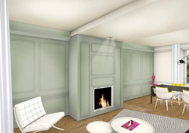 Redonner du cachet à une maison de maître:  de style  par Camille&Tifany