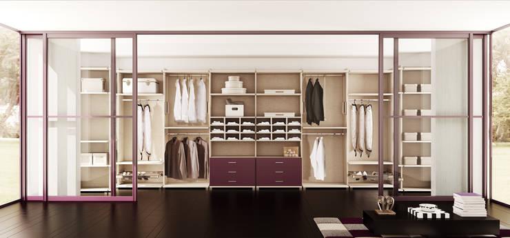 Projekty,  Garderoba zaprojektowane przez Muebles Carlos Pastor