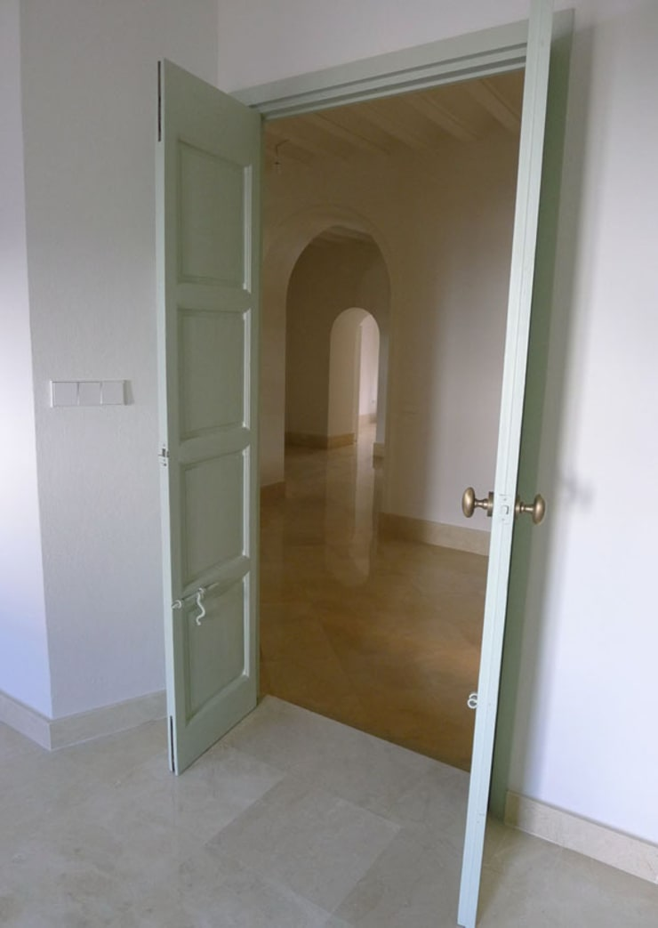 Rehabilitación vivienda unifamiliar. Trigueros (Huelva):  de estilo  de Estudio de arquitectura DS arquitectura