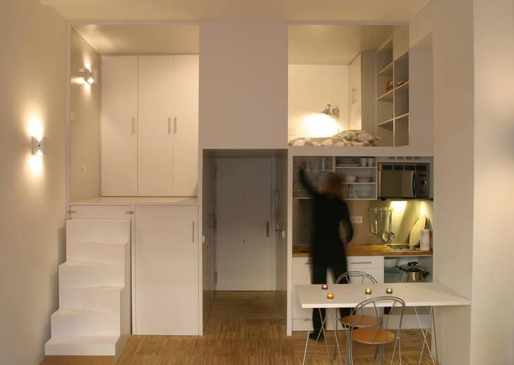 Dapur oleh Beriot, Bernardini arquitectos, Minimalis