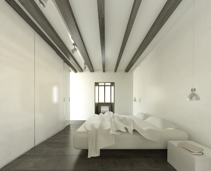 BASQUE VERNACULAR HOUSE REFURBISHEMNT:  de estilo  de BAT - Bilbao Architecture Team