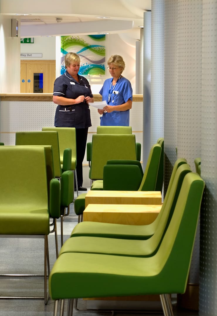 Outpatients Department:  Hospitals by Koubou Interiors