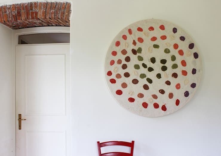 NUNO FELT PANEL: Casa in stile  di Judith Byberg