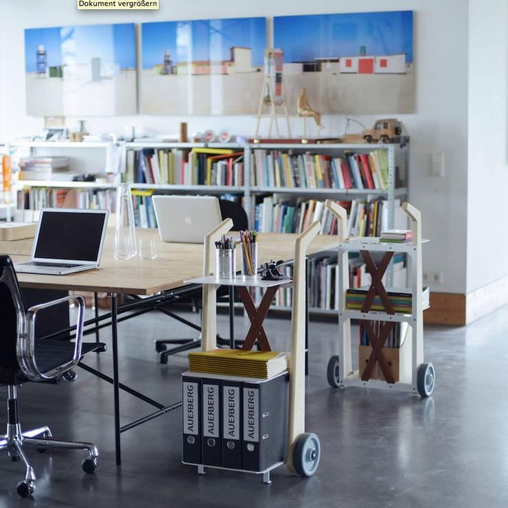 Bücherkarre:  Arbeitszimmer von AUERBERG,