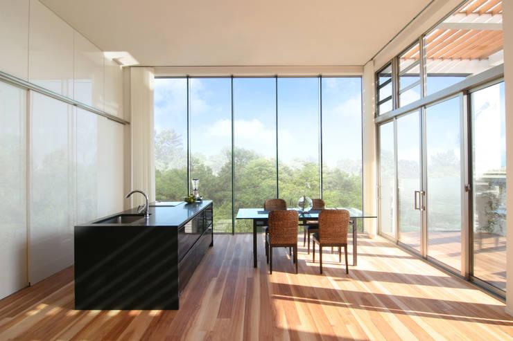 Projekty,  Jadalnia zaprojektowane przez TERAJIMA ARCHITECTS