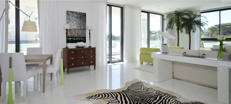Estoril Luxury Show Apartment: Casas modernas por Tereza Prego Design
