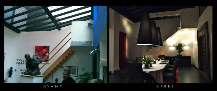 Du garage au loft:  de style  par Décorateur Design