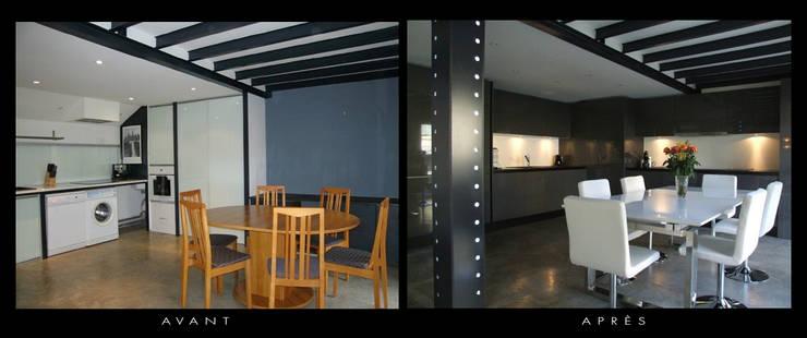 Une usine transformé en appartement:  de style  par Décorateur Design