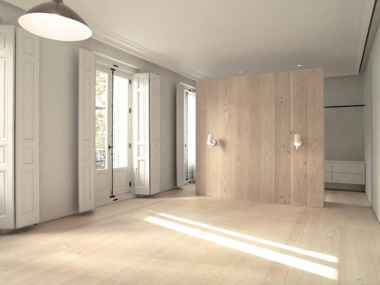 Chambre de style de style Moderne par Schneider Colao design