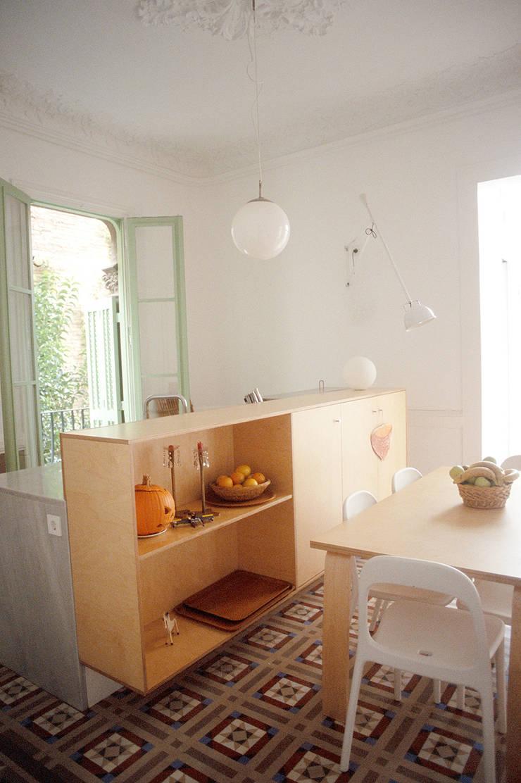 cocina - comedor: Comedores de estilo  de PARRAMON + TAHULL arquitectes