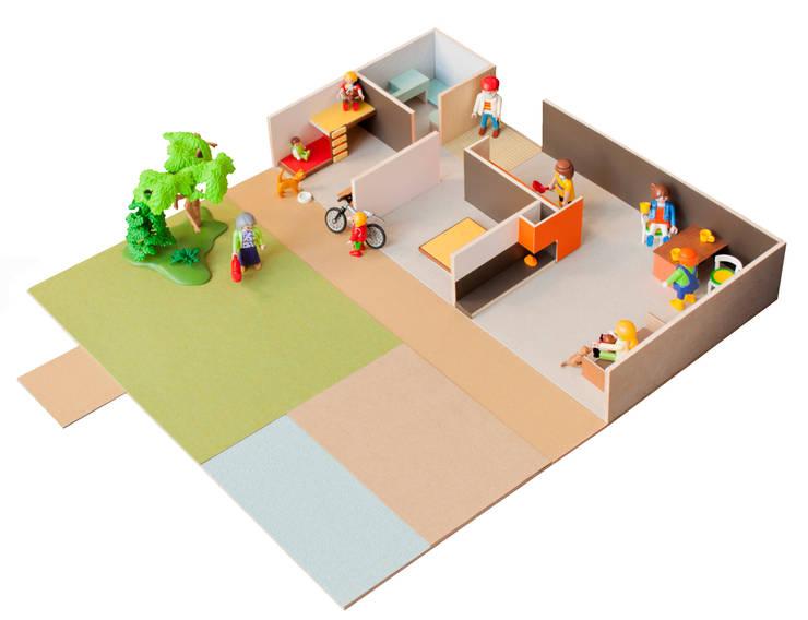 Kinderzimmer von PARRAMON + TAHULL arquitectes