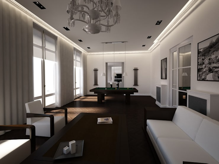 Appartement Avenue Malakoff: Maisons de style  par DB design