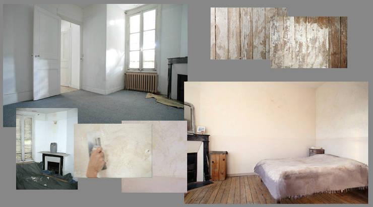 Restauration de chambre:  de style  par Isabelle di Gennaro
