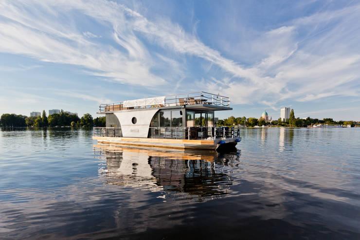 Nautilus Hausboote GmbHが手掛けたビーチハウス・クルーザー