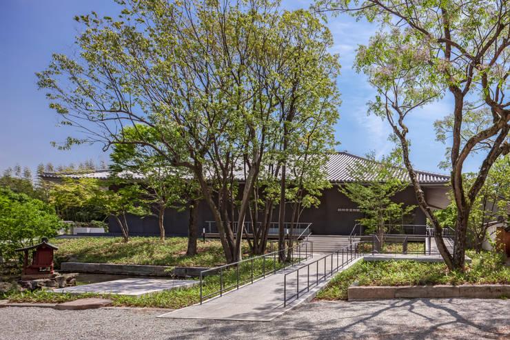 博物館 by 株式会社古田建築設計事務所, 日式風、東方風