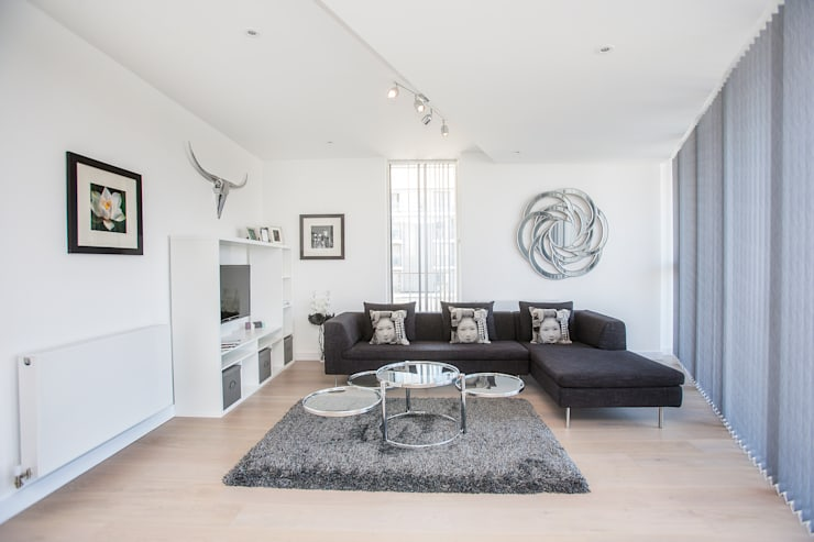 Granite Apartments, River Gardens Walk, Greenwich, SE10:   by Millennium Interior Designers