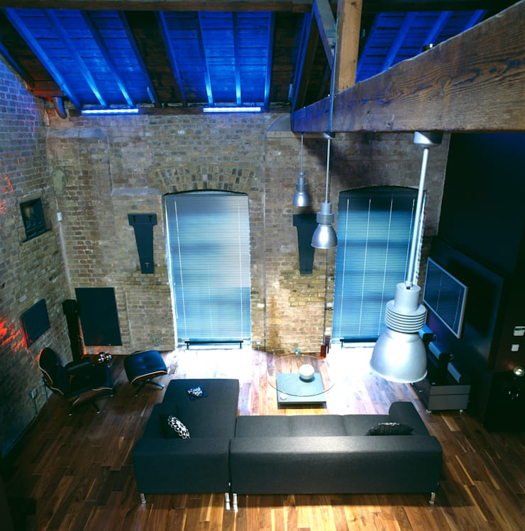 Warehouse Conversion London:   by Quirke McNamara