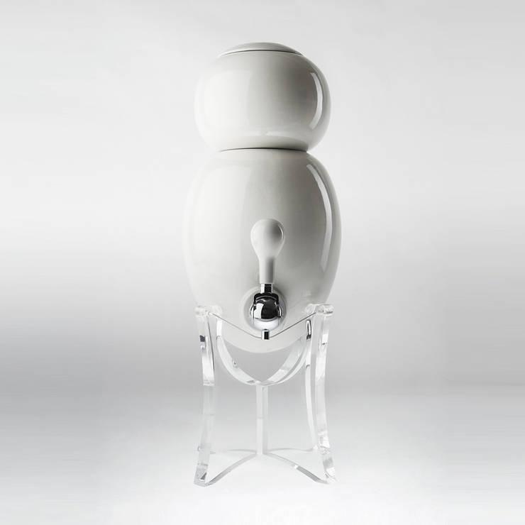 filtre a eau Aquaovo base verre acrylique: Spa de style  par 1r design