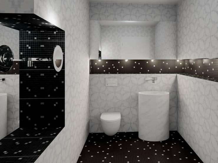 Das klassische-moderne Bad:  Badezimmer von UTH living stone GmbH ,Modern
