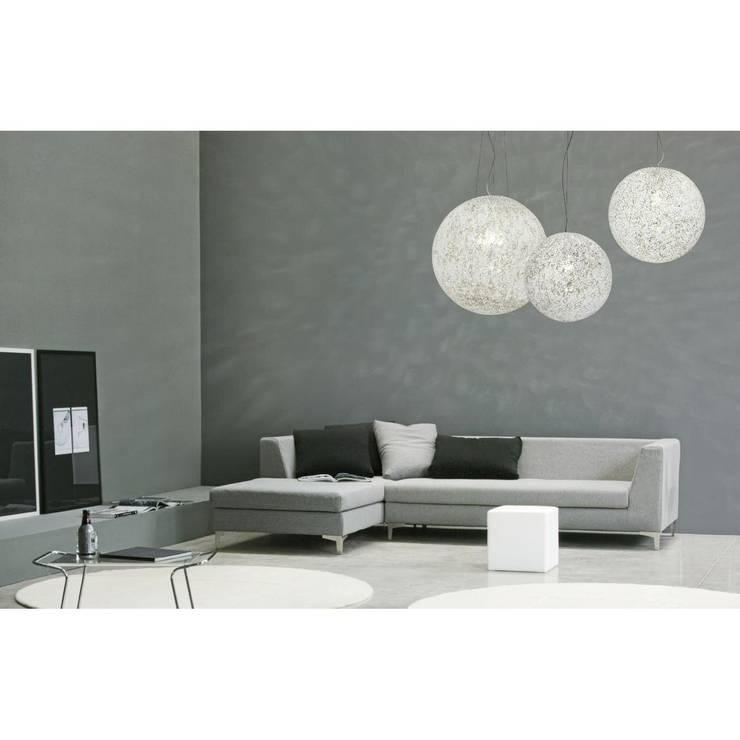 Lámpara de cristal Rina: Dormitorios de estilo  de Ociohogar