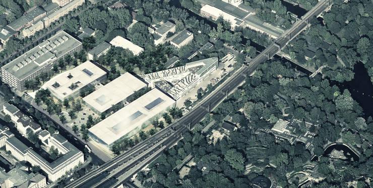 Bird view: Musées de style  par NAS Architecture