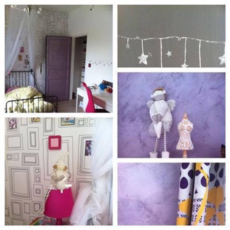 Détails chambre d'enfant (vue2): Chambre d'enfant de style  par DK2DECO