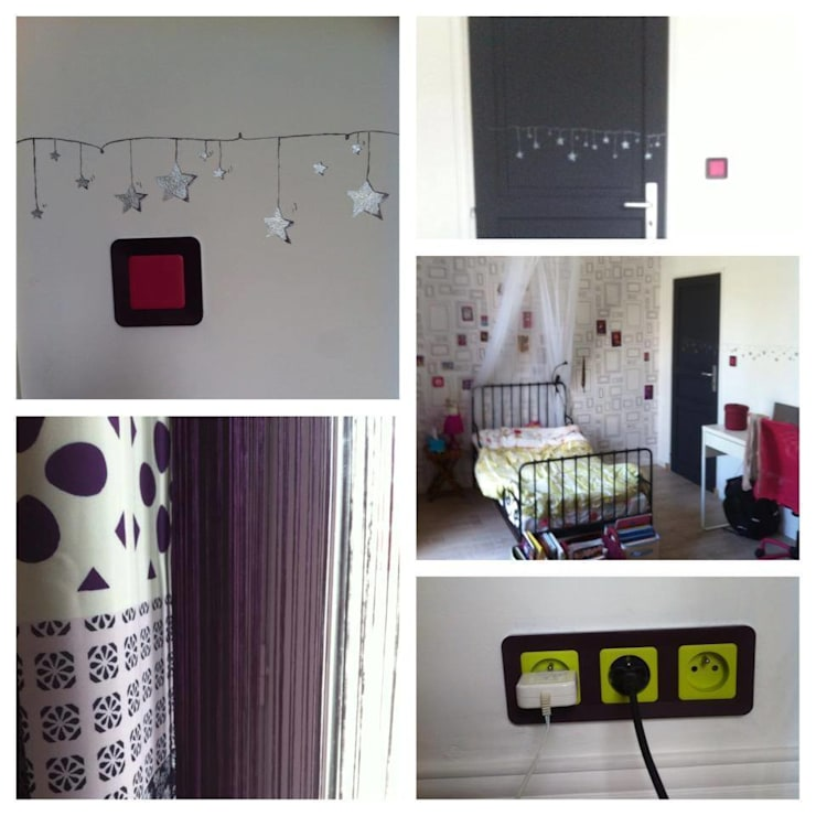 Détails chambre d'enfant: Chambre d'enfant de style  par DK2DECO