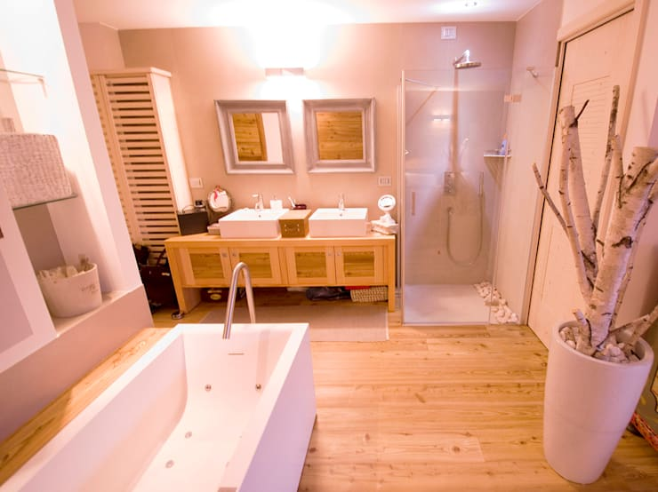 Architetto Beltrame Claudio의  욕실