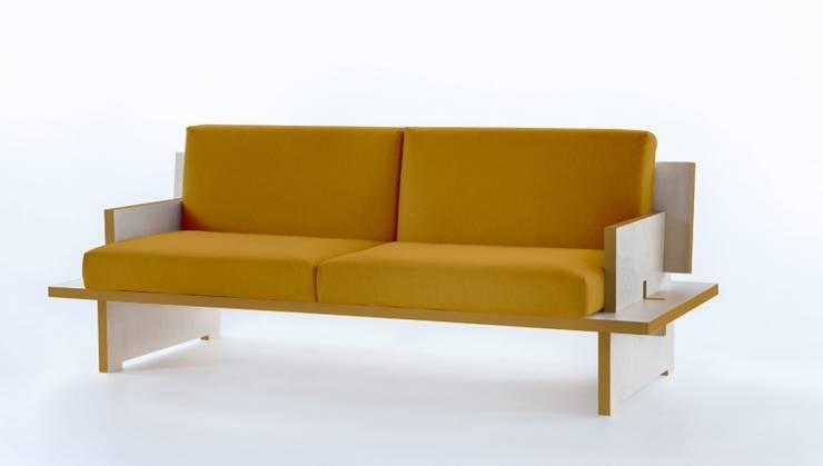 CINQUE - divano: Soggiorno in stile  di SMAG design
