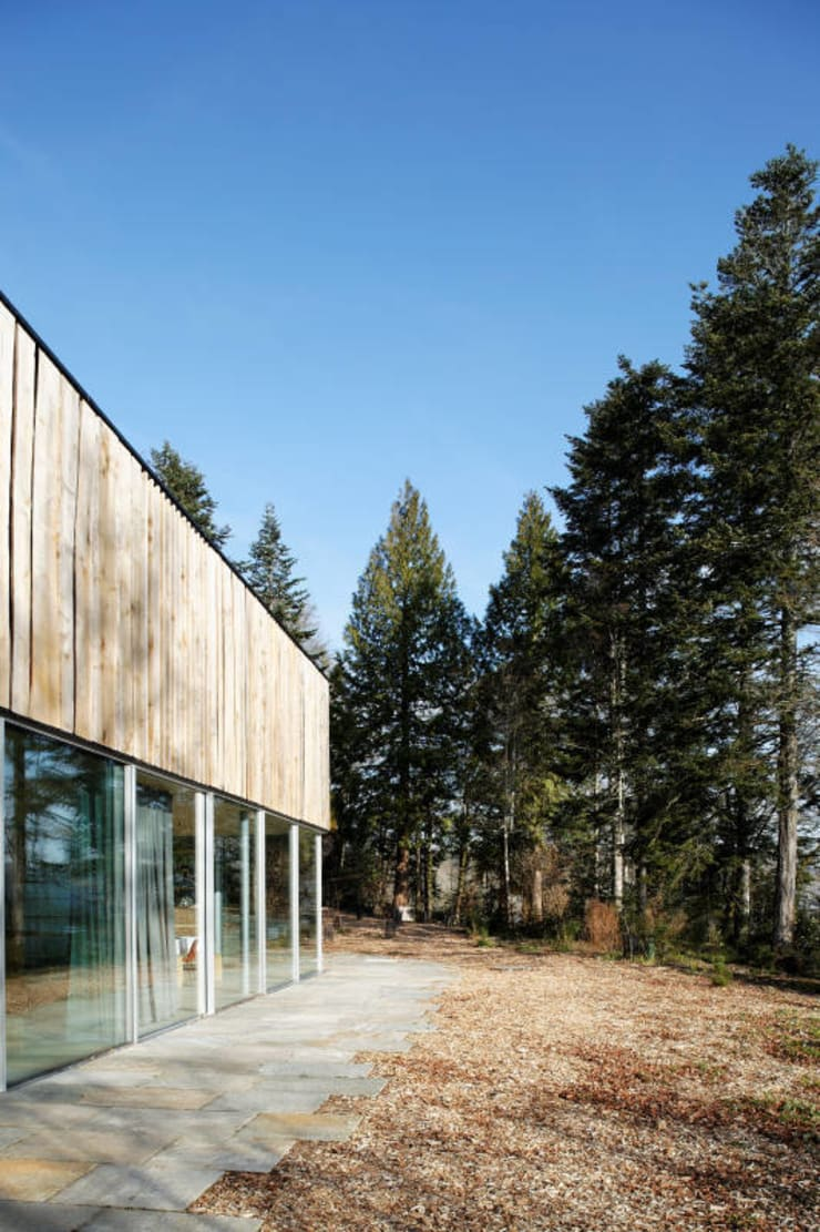 Maison D: Maisons de style  par Lode Architecture