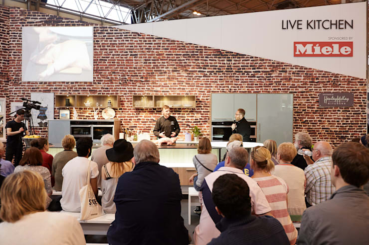 Grand Designs LIVE 2013 Celebrity Show Demo Kitchen :  Kitchen by Henley McKay Kitchens