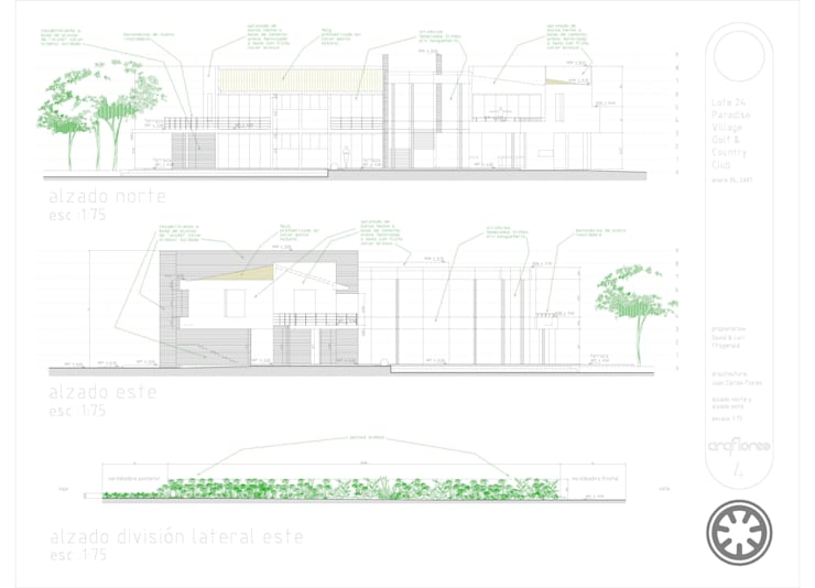 by arqflores / architect,