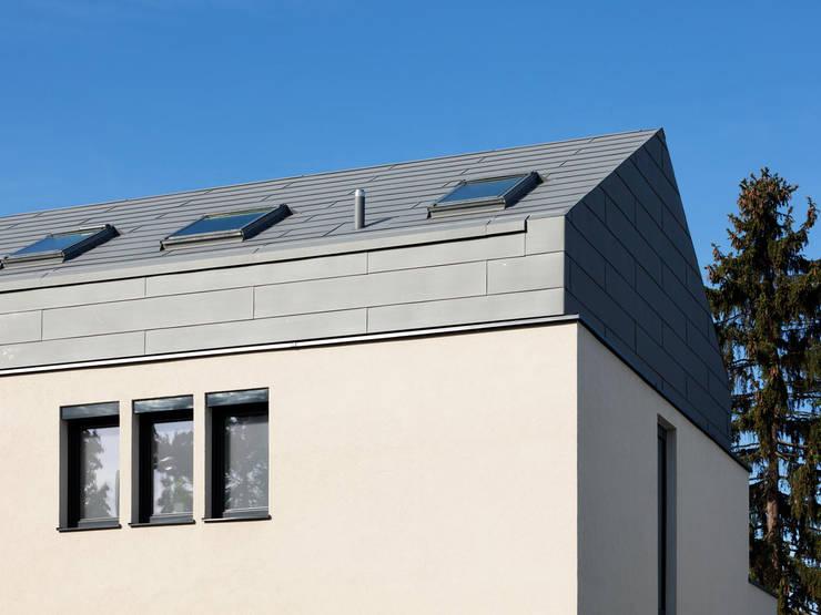 Wohnhaus LU87:  Häuser von THOMAS GRÜNINGER ARCHITEKTEN BDA,
