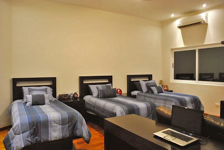 غرفة نوم تنفيذ CORTéS Arquitectos