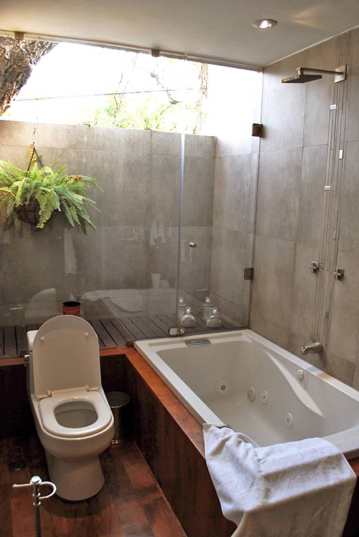 حمام تنفيذ CORTéS Arquitectos