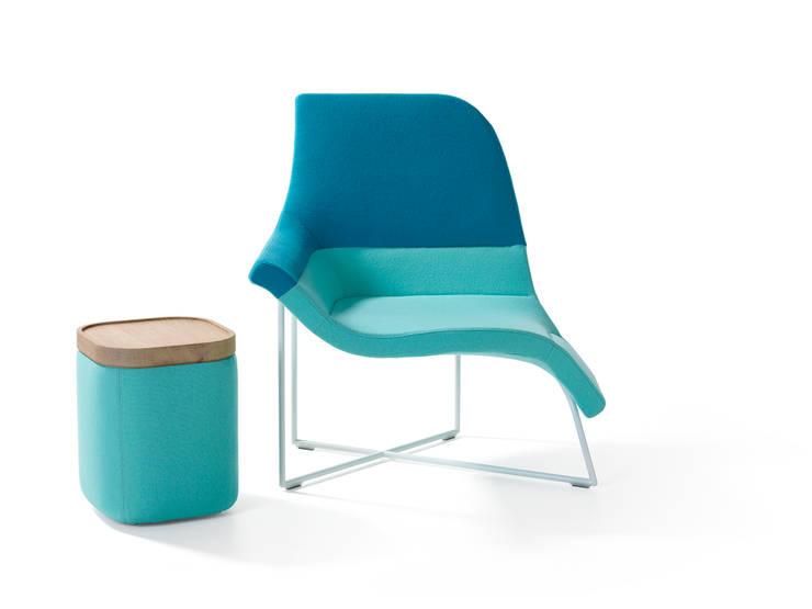 Gemini by UNStudio / Ben van Berkel (a dynamic seating element):   by Artifort