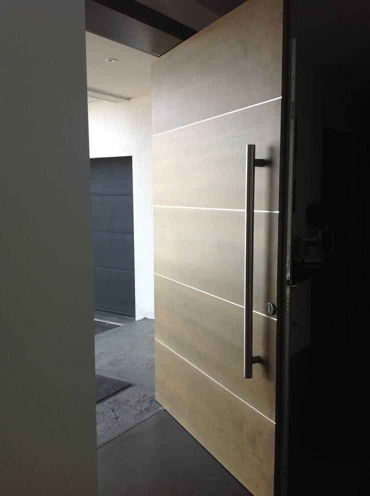 conception d 39 une porte sur pivot par myriam galibert amenagement homify. Black Bedroom Furniture Sets. Home Design Ideas