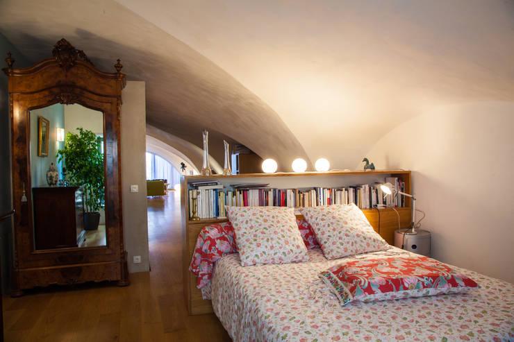 Chambre: Maisons de style  par Franck Fouquet