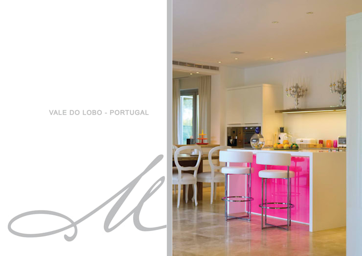 House in Vale Do Lobo:   por Maria Raposo Interior Design