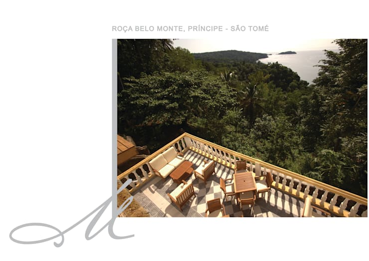 Roça Belo Monte: Corredores e halls de entrada  por Maria Raposo Interior Design